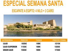 ESPECIAL SEMANA SANTA EGIPTO